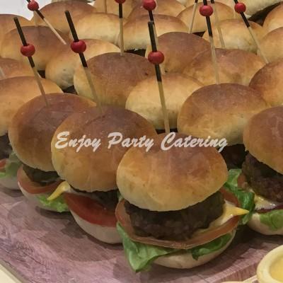 自家製迷你漢堡包 (無激素豬肉)